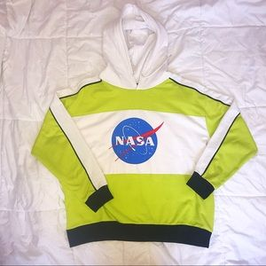 Chemistry NASA drawstring hoodie